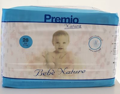 28 PANNOLINI - Bebè Natura TAGLIA 2/6 KG