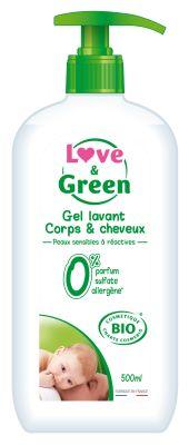 DETERGENTE GEL BABY CORPO E CAPELLI BIO Love&Green