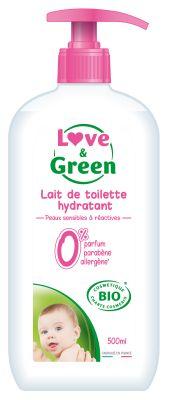 LATTE DETERGENTE IPOALLERGENICO BIO Love&Green