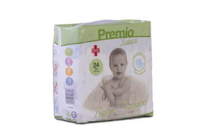 24 PANNOLINI - Bebè Natura TAGLIA 4/10 KG