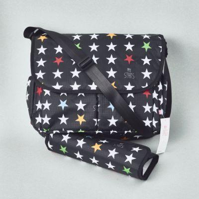 BORSA MAMMA STARS Black My Bags
