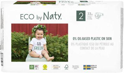 33 PANNOLINI - ECO BY NATY TAGLIA 3/6 KG