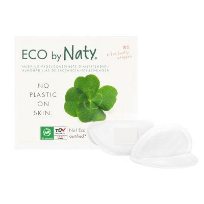 COPPETTE ASSORBILATTE USA e GETTA Eco by Naty 30 pz