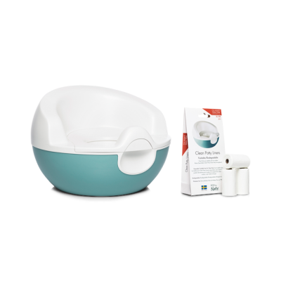 CLEAN POTTY VASINO VEGETALE ECOLOGICO Eco by Naty