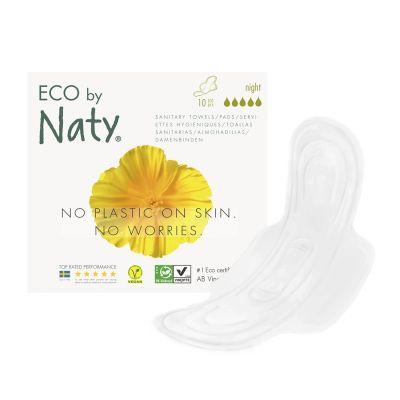 ASSORBENTI ECOLOGICI NOTTE CON ALI Eco by Naty