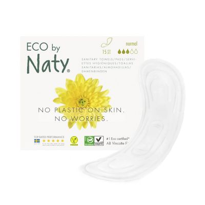 ASSORBENTI ECOLOGICI NORMAL Eco by Naty