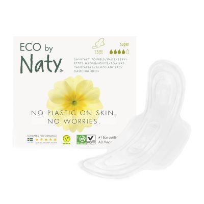 ASSORBENTI ECOLOGICI SUPER CON ALI Eco by Naty