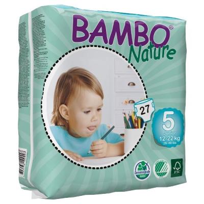 132 PANNOLINI - BAMBO NATURE 12/18 KG