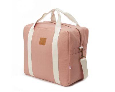 BORSA CAMBIO CON GANCI UNIVERSALI PASSEGGINO Happy Family Pink My Bags