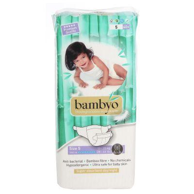PANNOLINI TAGLIA 5 Bambyo 13/20 Kg