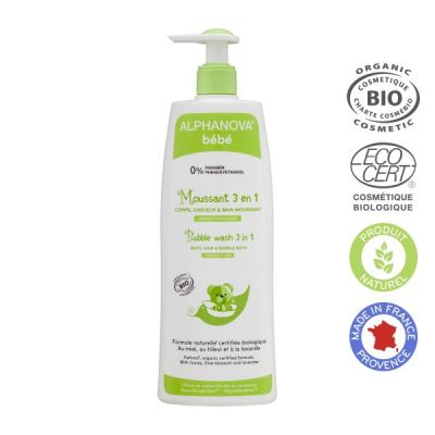 DETERGENTE MOUSSE 3 in 1 BABY Alphanova