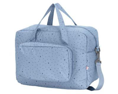 BORSA CAMBIO CON FASCIATOIO LEAF Blu My Bags