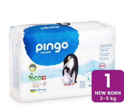 PANNOLINI TAGLIA 1 2/5 Kg 27 pz Pingo