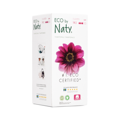 TAMPONI CON APPLICATORE SUPER Eco by Naty