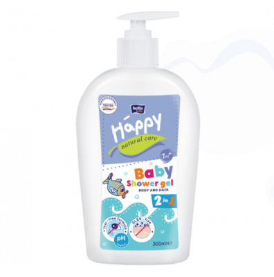 DETERGENTE GEL BABY CORPO E CAPELLI BIO Happy