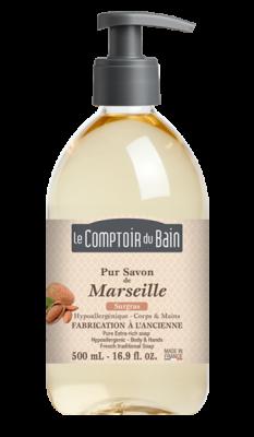 SAPONE TRADIZIONALE DI MARSIGLIA ALLA MANDORLA Le Comptoir du Bain