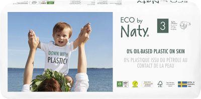 PANNOLINI TAGLIA 3 Eco by Naty 4/9 Kg