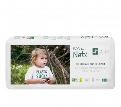 PANNOLINI TAGLIA 4+ Eco by Naty 9/20 Kg