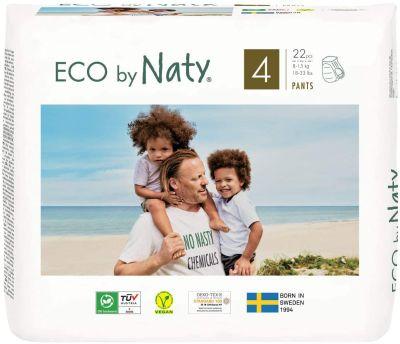 PANNOLINI MUTANDINA TAGLIA 4 Eco by Naty 8/15 Kg