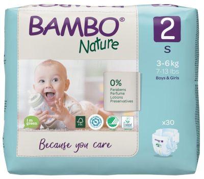 PANNOLINI TAGLIA 2 MINI 3/6 Kg Bambo Nature