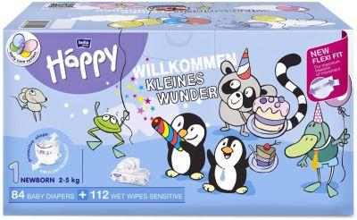 BOX NASCITA TAGLIA 1 NEWBORN 2/5 Kg Happy