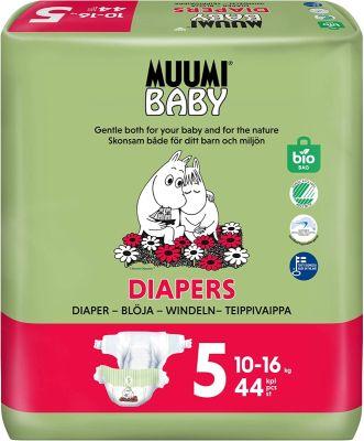 PANNOLINI TAGLIA 5 Muumi Baby 10/16 KG