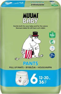 36 PANNOLINI MUTANDINA - MUUMI BABY TAGLIA 12/20 KG
