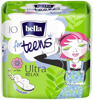 ASSORBENTI for TEENS ULTRA RELAX Bella