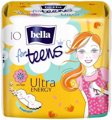 ASSORBENTI for TEENS ULTRA ENERGY Bella