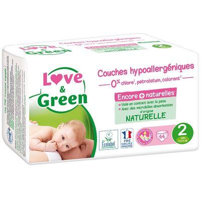 44 PANNOLINI - LOVE&GREEN TAGLIA 3/6 KG