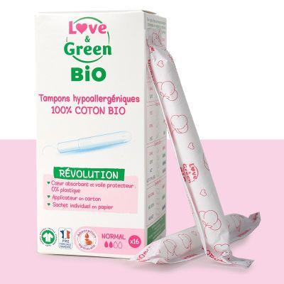 TAMPONI CON APPLICATORE NORMAL Love&Green