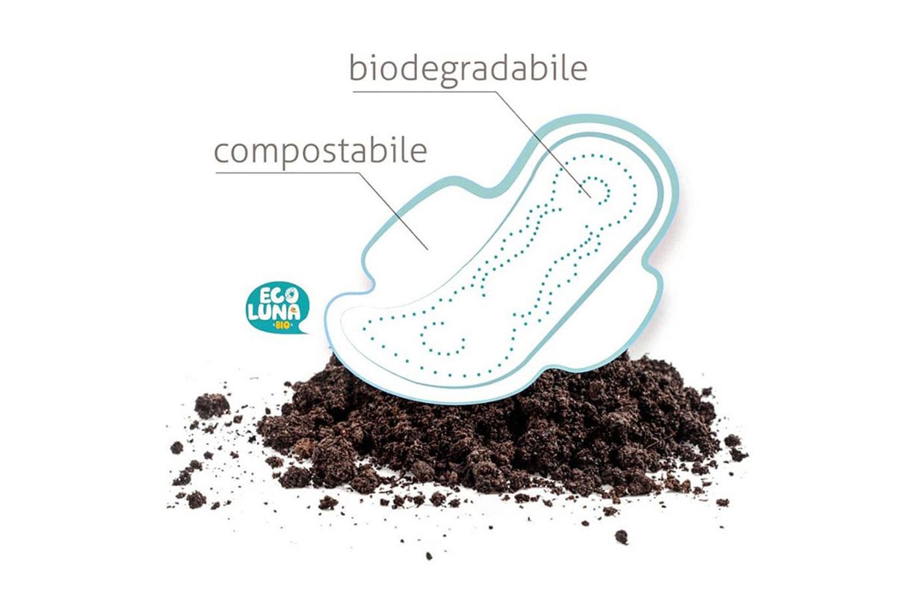 Assorbenti compostabili usa e getta? Facciamo chiarezza