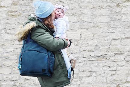 Uscire con il bebè fa bene a lui e a te!