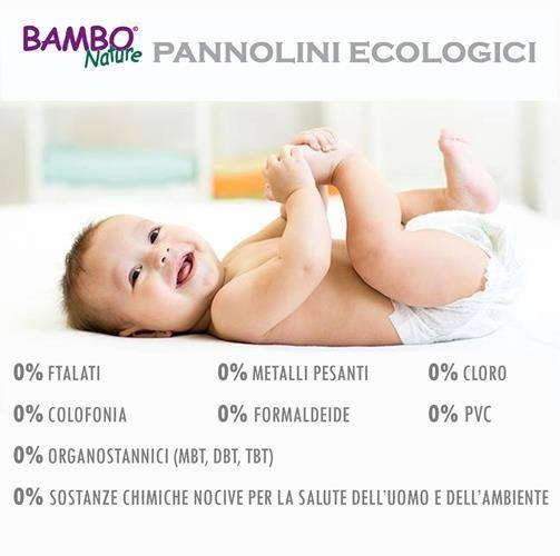 pannolino bambo nature senza petrolio
