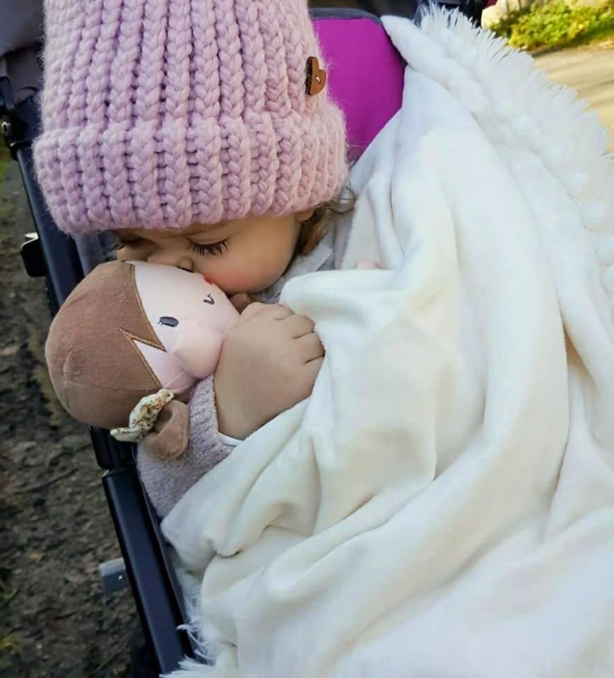 bambola stoffa bizzi