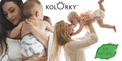 kolorky love neonato pannolini ecologici