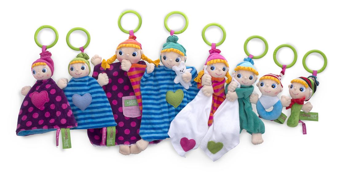 doudodu bambola empatica rubens barn rubie