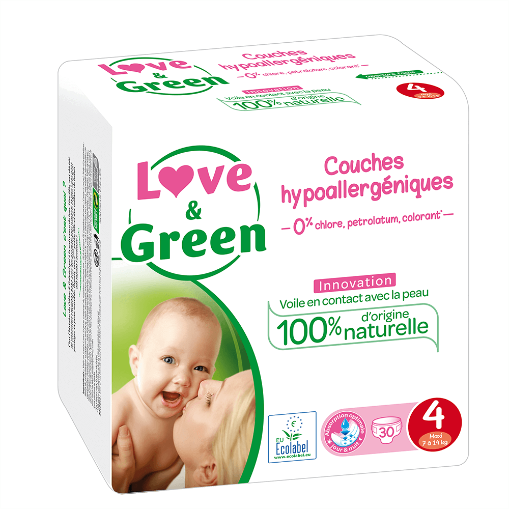 pannolini loveandgreen taglia 4 7/14 kg
