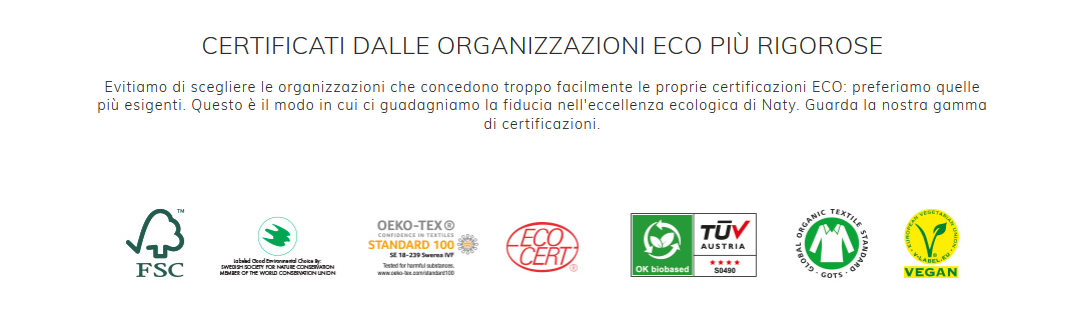 certificati eco by naty