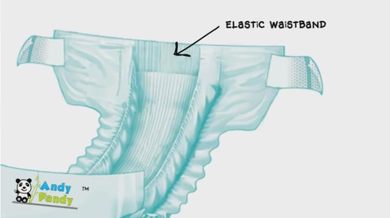 elastic pannolino