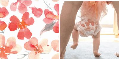 pannolino kolorky fiori