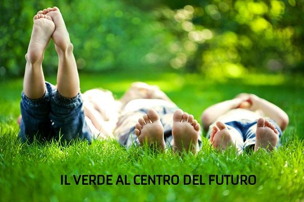 il verde al centro del futuro