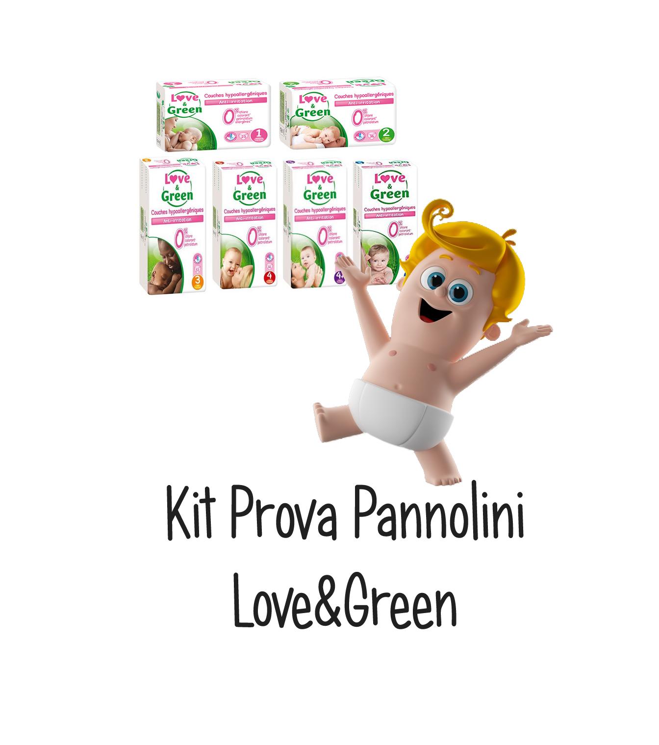 kit prova pannolini love&green
