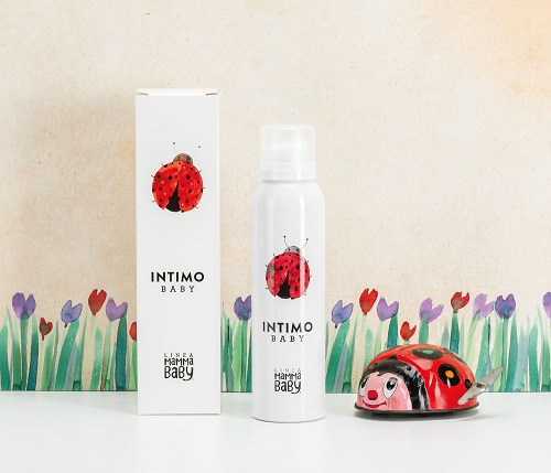intimo mousse baby linea mamma baby