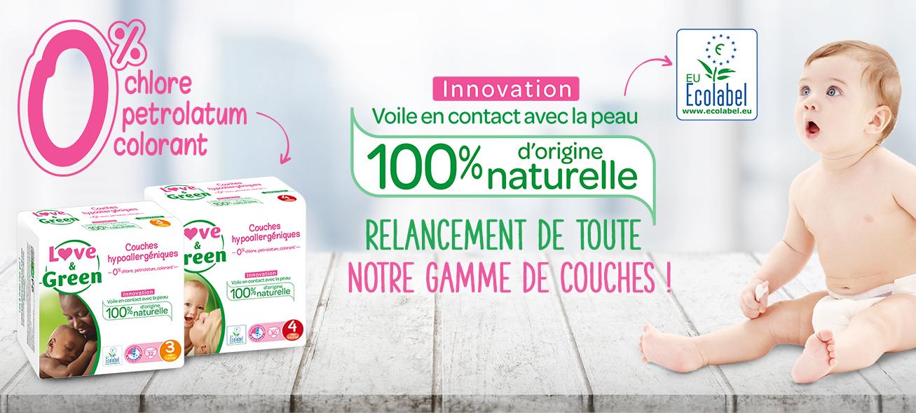 love&green nessun agente chimico sui pannolini francesi