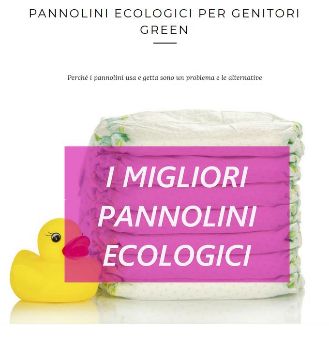 i migliori pannolini ecologici