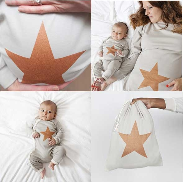set pigiama star