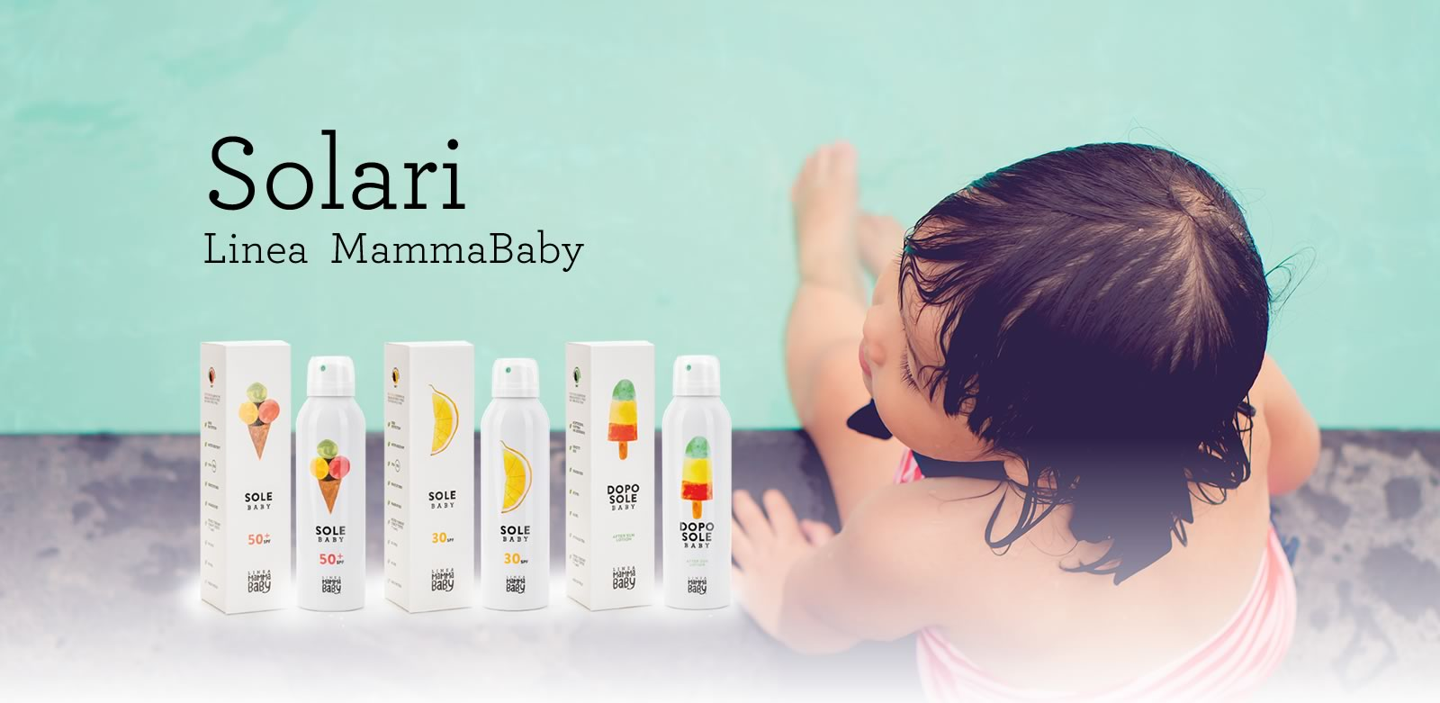 protezione solare linea mamma baby
