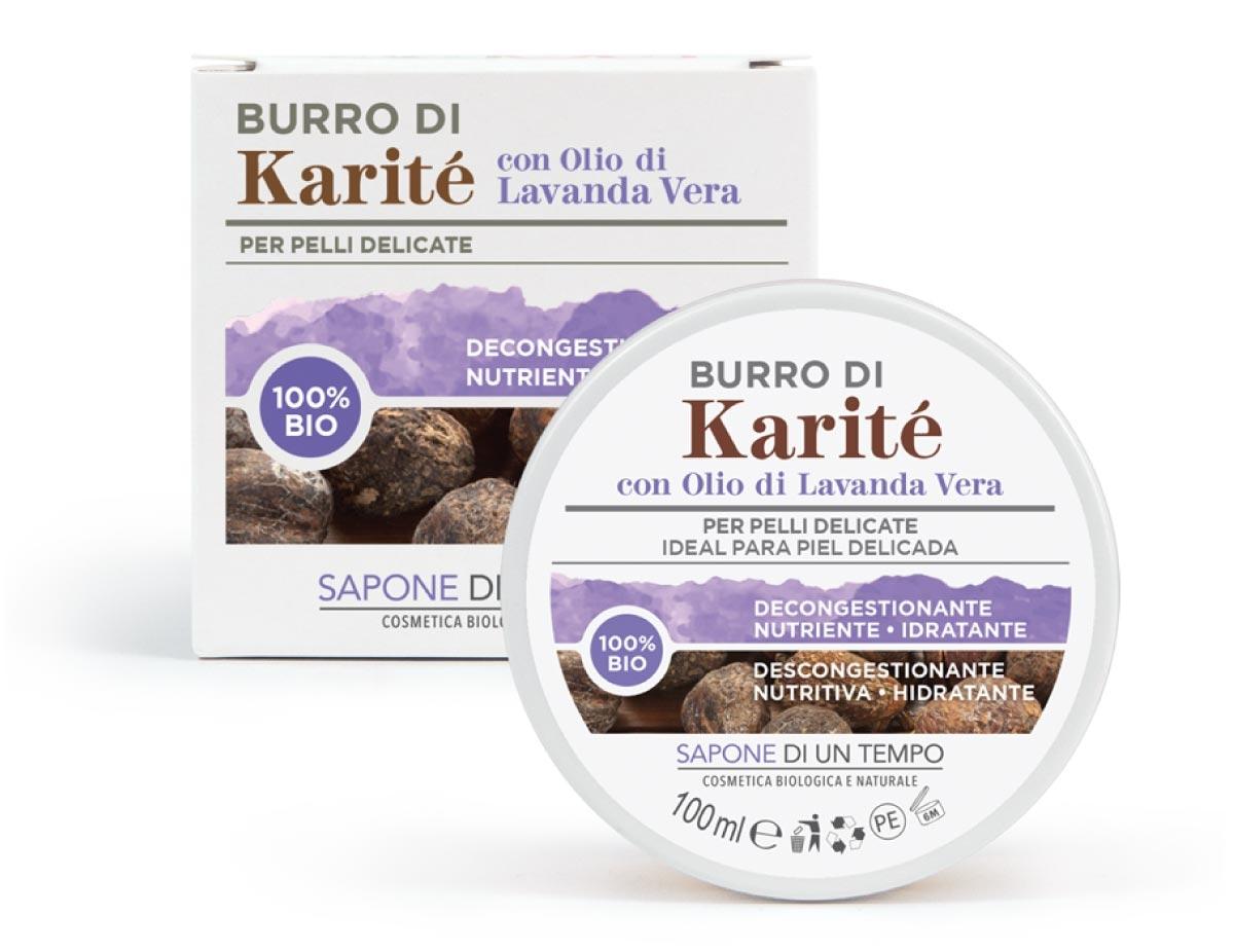 burro karite lavanda saponediuntempo