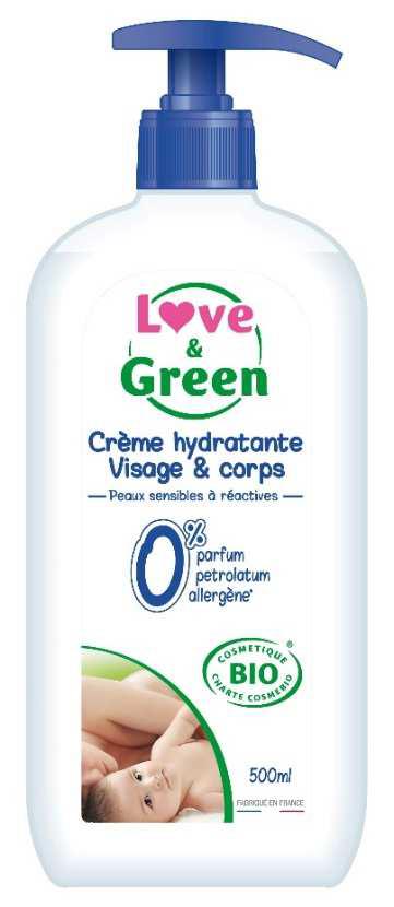 crema viso corpo bio love green